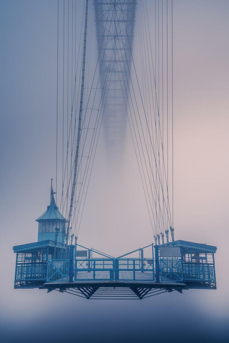 Itay Kaplan with 'Foggy Bridge'