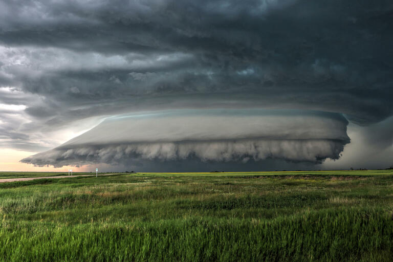 Craig Boehm with 'Perfect Storm'