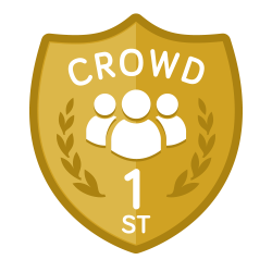 Crowd vote category winners